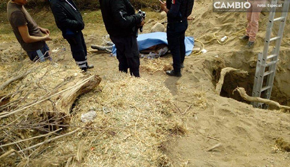 Queda sepultado mientras trabaja en las alcantarillas en Huejotzingo