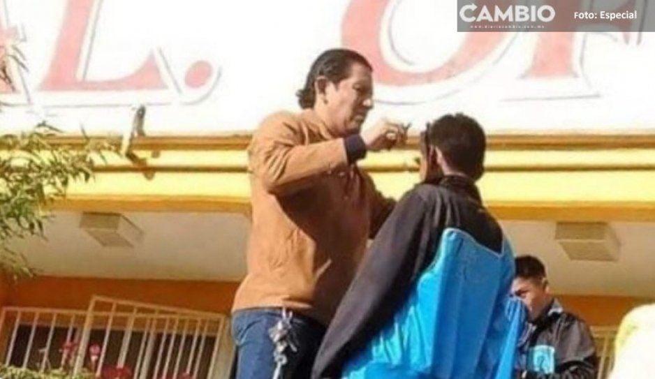 Padres de familia inconformes  denuncian abuso de autoridad en el Bachiller Frida Kahlo en Chignautla