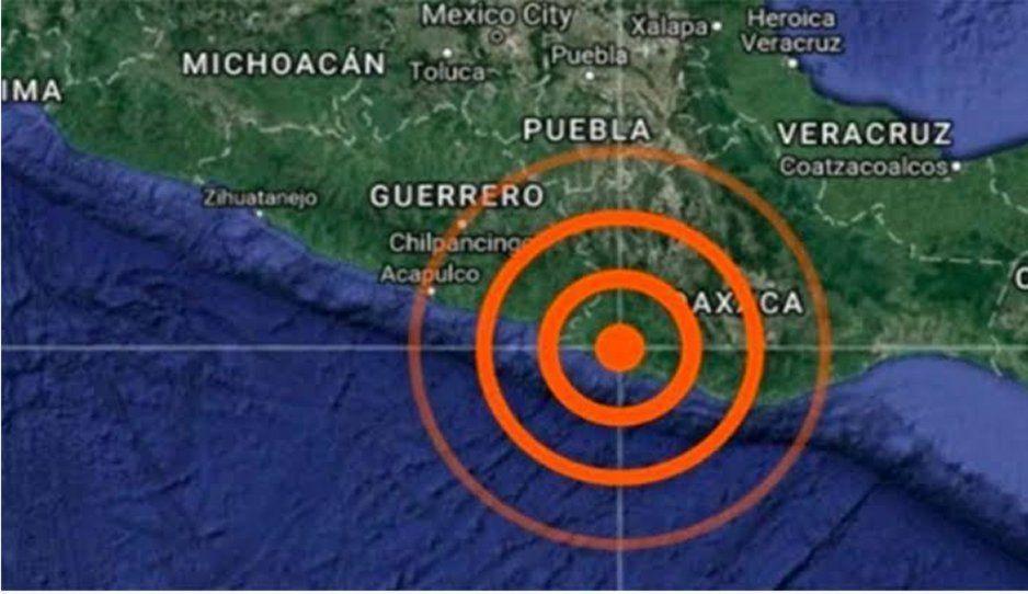 Dos sismos de magnitud 5.2 sacuden a Oaxaca