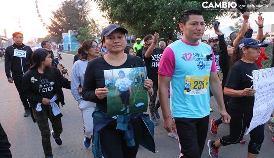 Dedican minuto de aplausos en honor de Ana Munguía en la Simi Carrera (VIDEO)