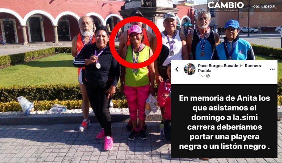 En honor de Anita Munguía, runners piden llevar playera o listón negro en la Simi Carrera del domingo