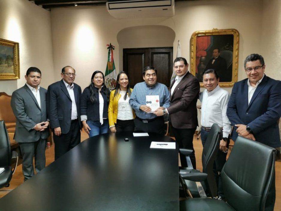 Barbosa se reúne con Armenta y Ricardo López a fin de generar acciones desde el Congreso