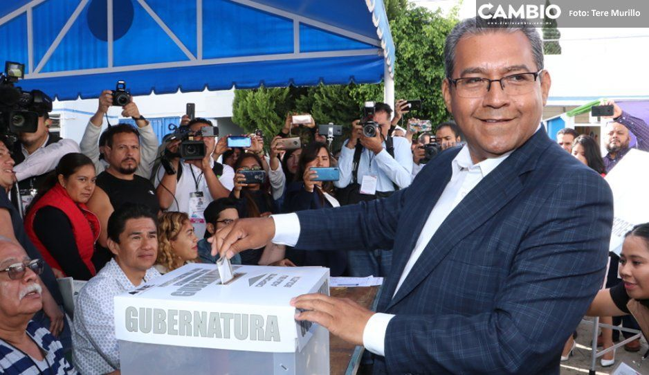 Jiménez perdió la elección hasta en su casilla: sólo 32 votaron por él