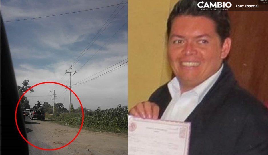 Cae banda que levantó y asesinó a delegado de la SGG en Huejotzingo