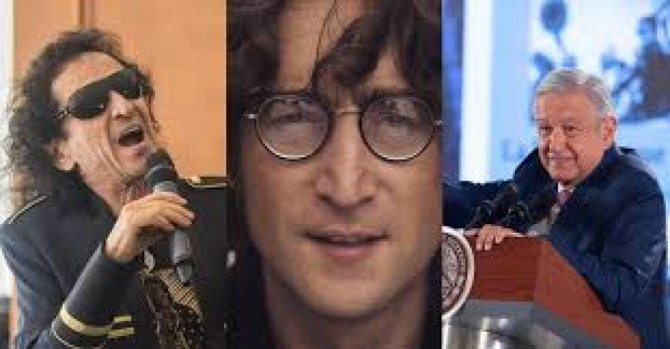 Prefiero escuchar rockeros no conservadores como John Lennon que a Alex Lora: AMLO
