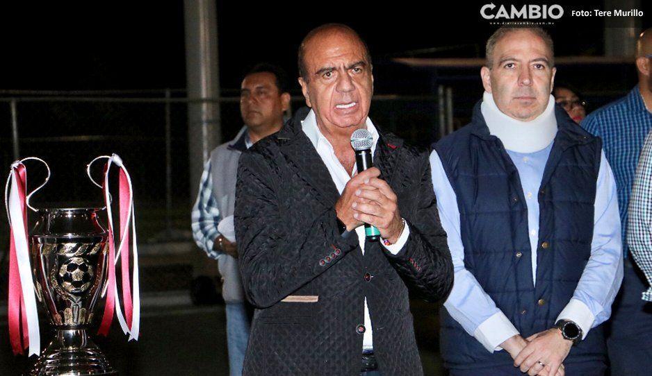 Queremos que el maratón de Puebla  esté al nivel del de Nueva York: Haddad