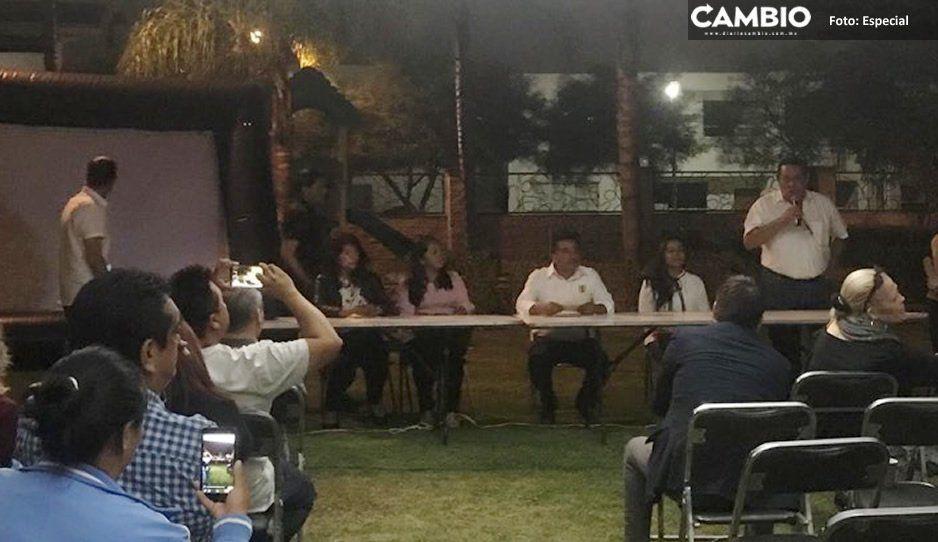 Fracasa debate entre candidatos a la presidencia municipal de Ocoyucan