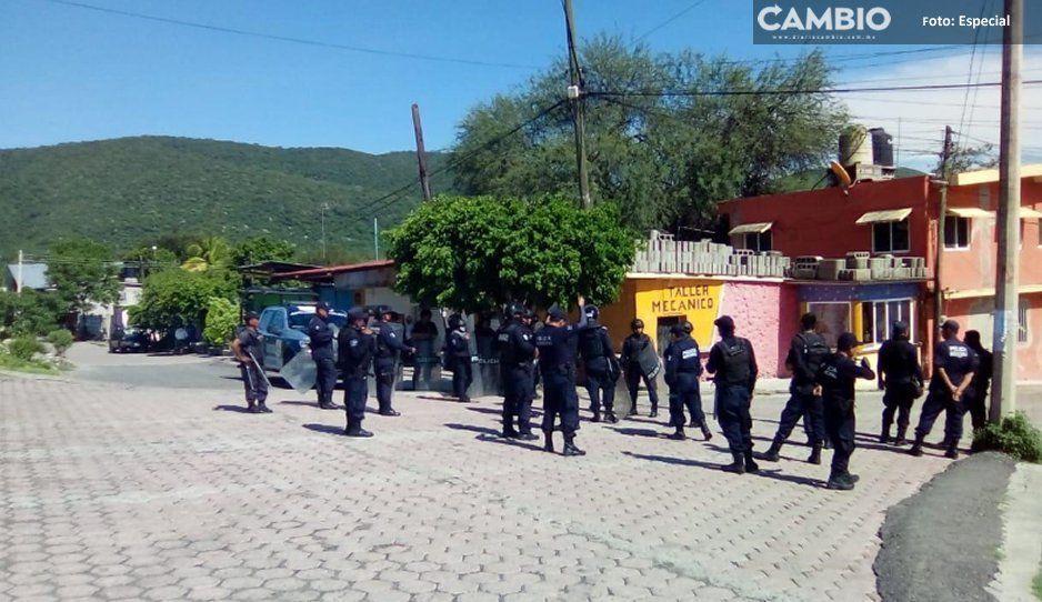 Pobladores  de Tepexco  y Cohuecan  buscan a un  desaparecido