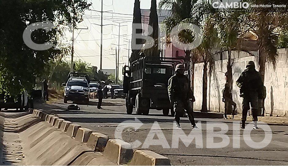 VIDEO: Policía Federal catea tres inmuebles en Xoxtla, podrían estar relacionados con huachicoleo