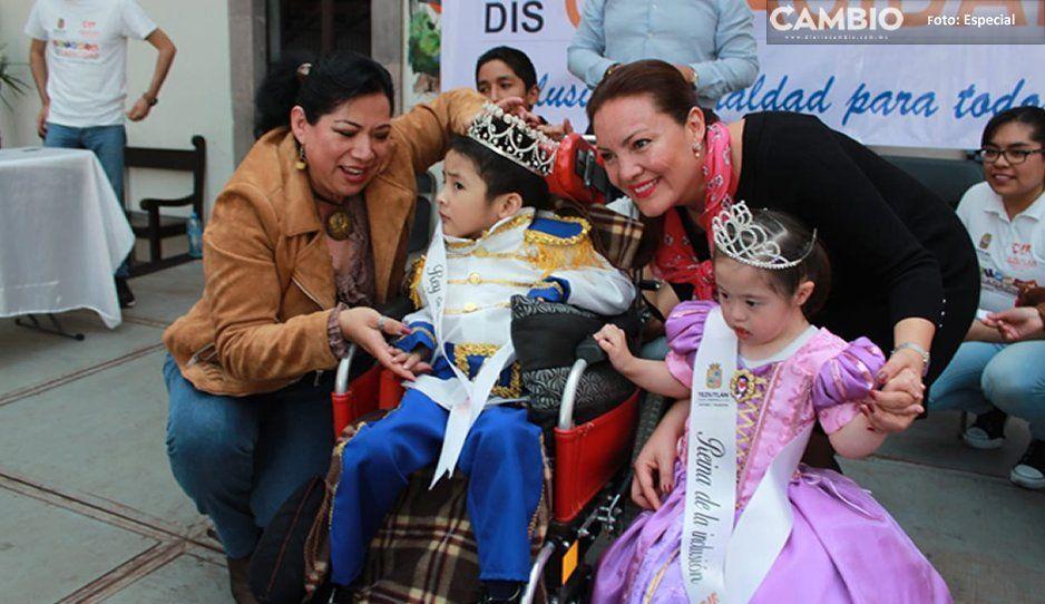 La primera dama de Teziutlán trabaja para las personas con discapacidad