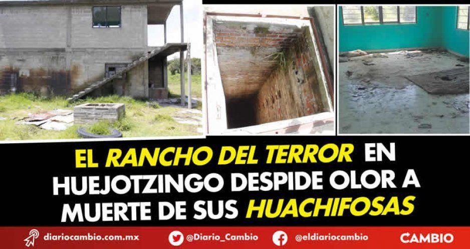 El Rancho del Terror en Huejotzingo despide olor a muerte de sus huachifosas