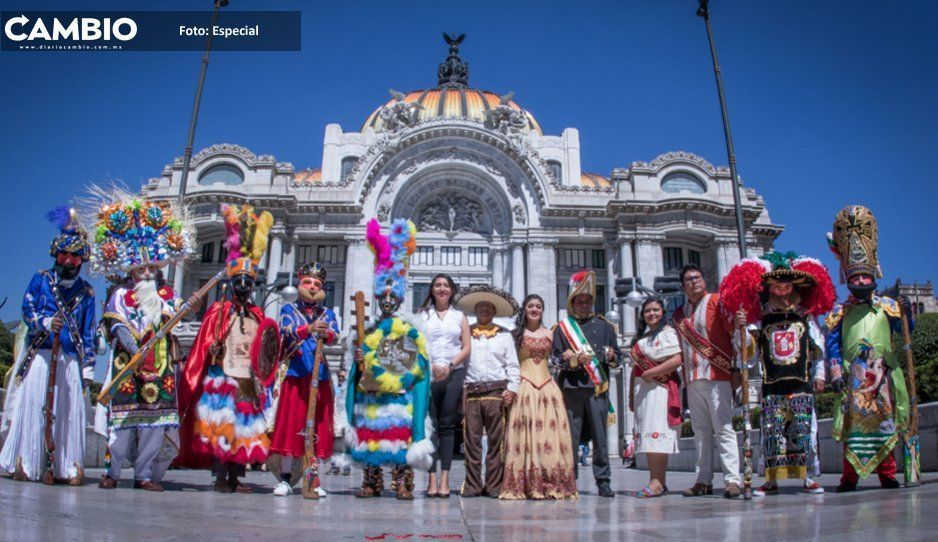 Presentan a nivel nacional Carnaval de Huejotzingo
