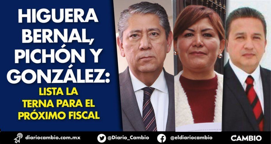 Higuera Bernal, Pichón y González: lista la terna para el próximo fiscal