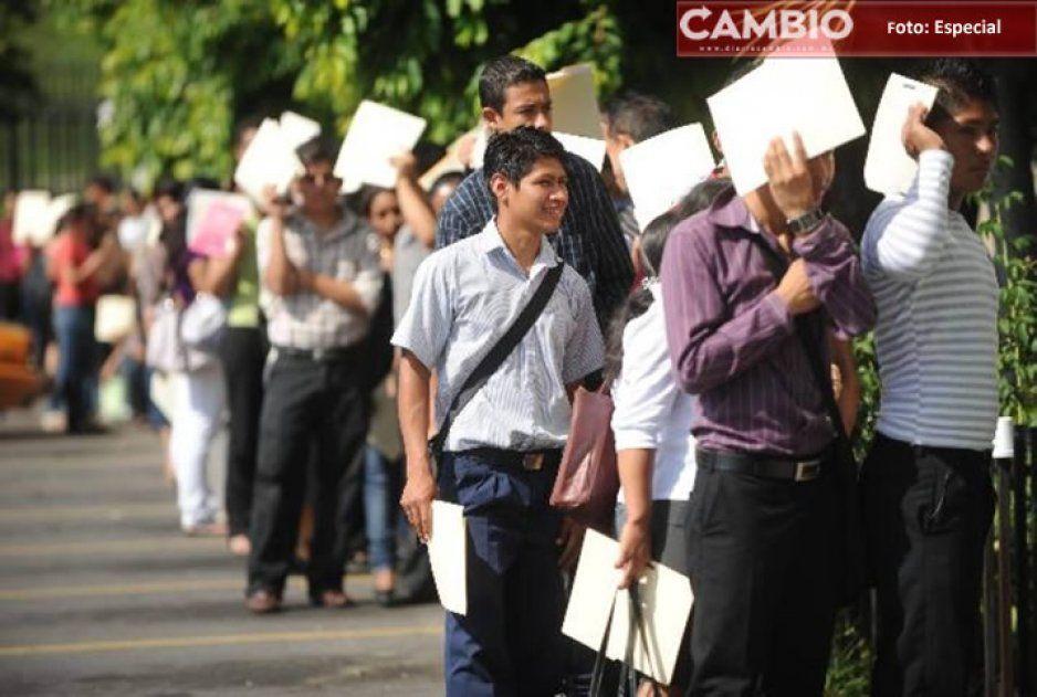Aumentó el número de desempleados en el país durante el segundo trimestre del año según cifras del INEGI