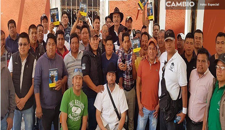 Puebla está hecha un infierno: Líder de grupos de autodefensas en gira en Yehualtepec