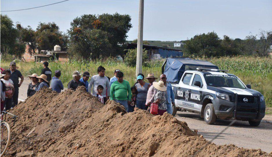Por rivalidad política, presidente auxiliar de Ocotlán y pobladores impidieron realización de colector pluvial