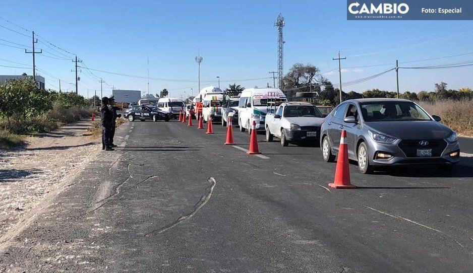 Roban dos  vehículos  a diario en  Tehuacán