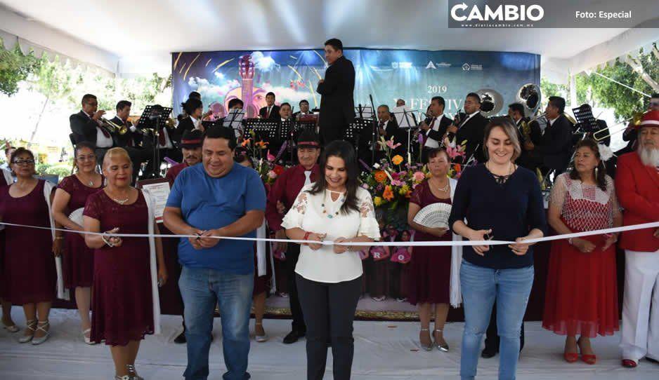 Inaugura Norma Layón el Festival Calpulli Temoxcalli en Texmelucan