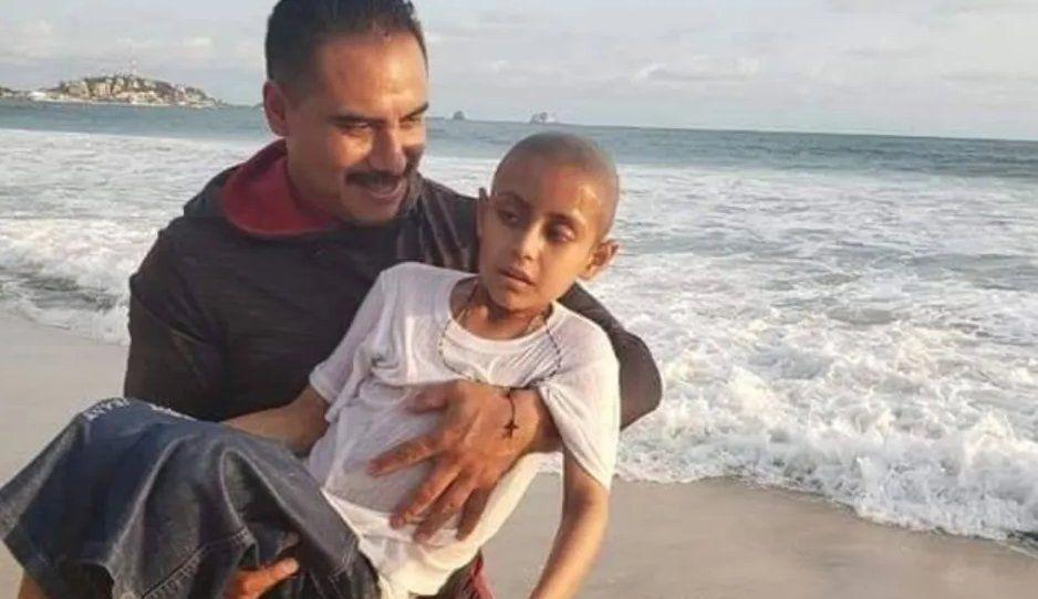 Jonathan muere a causa del cáncer tras conocer mar de Mazatlán