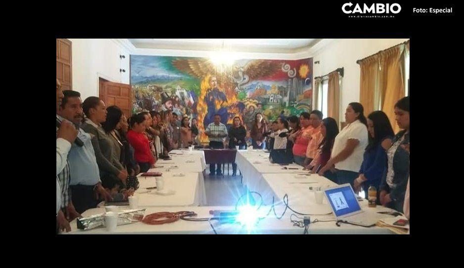 Conforman Comité Ciudadano para  la Paz en San Martín Texmelucan