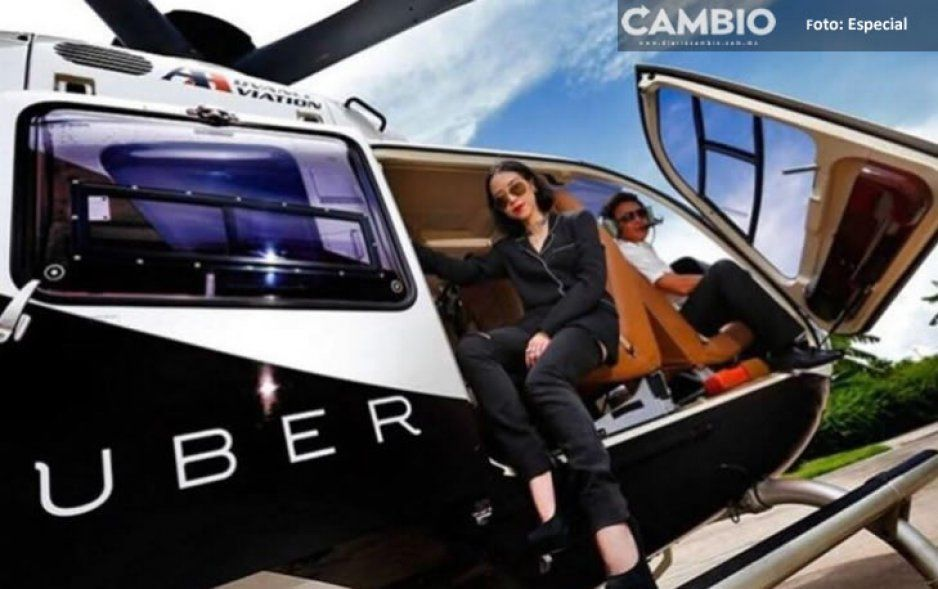 Uber anuncia servicio de taxis en helicóptero