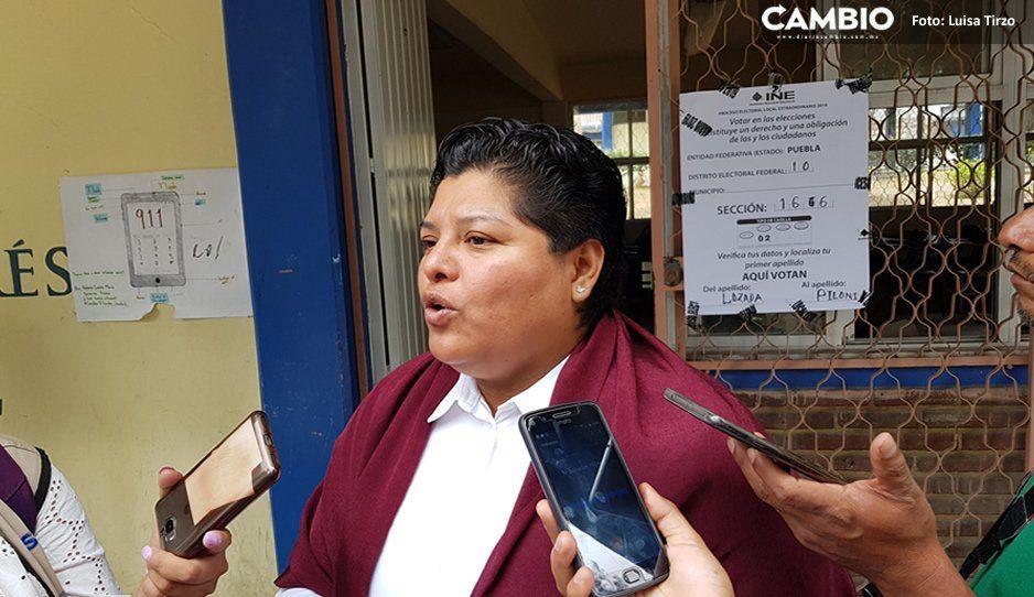 Karina Pérez: urge que se trabaje desde el gobierno del Estado, el cual se encuentra en una parálisis administrativa