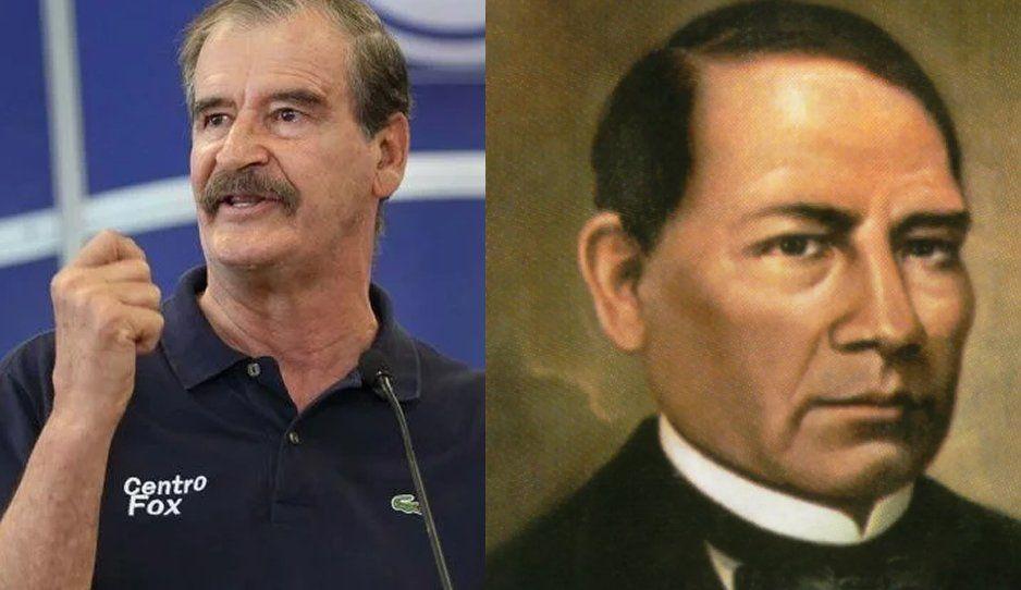 Vicente Fox afirma que fue mejor presidente que un tal Benito Juárez