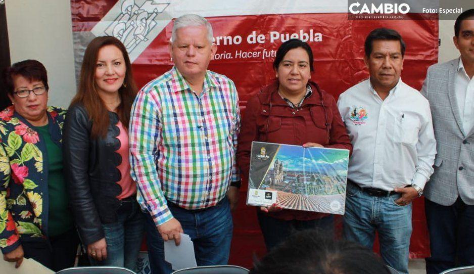 Peredo felicita a gobernador por interés  de recuperar campo en zona de Teziutlán