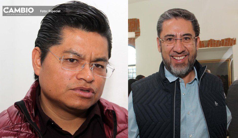 Ediles de Coronango  y Ocoyucan celebran  nombramiento de  Guillermo Pacheco