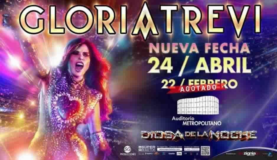 Poblanos arrasan con boletos para el concierto de Gloria Trevi; abren nueva fecha para abril