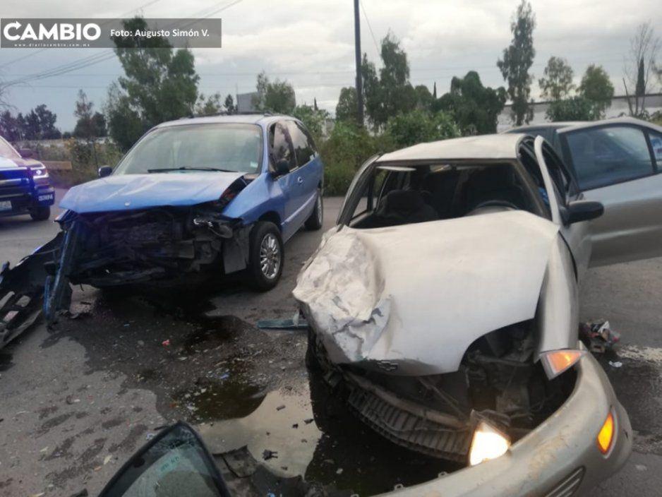 Seis lesionados entre ellos dos menores de edad, dejó un fuerte accidente en Tochtepec