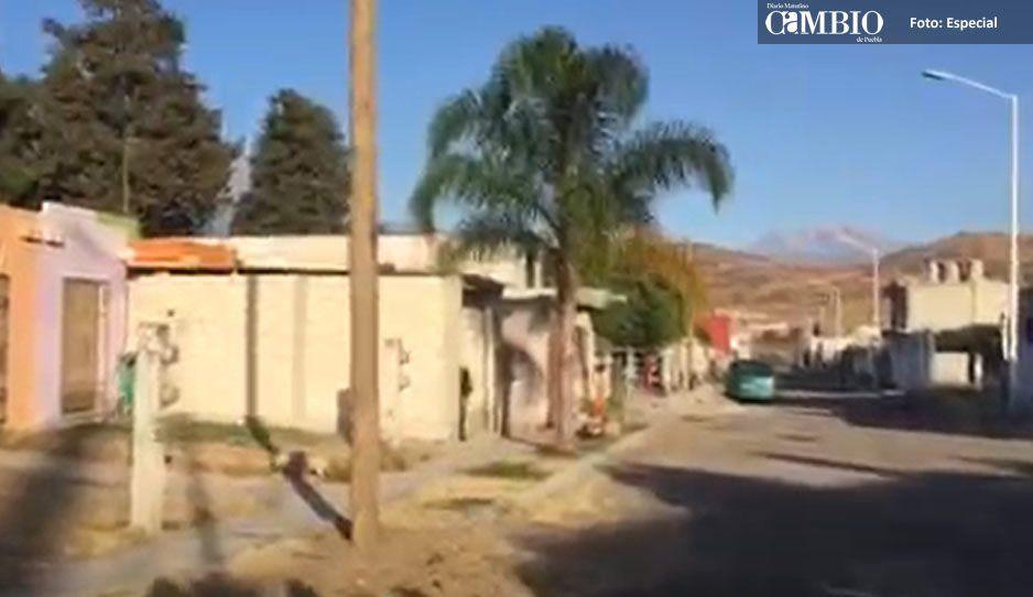 Telmex se instala sin permisos y deja afectaciones en Atlixco, denuncian vecinos