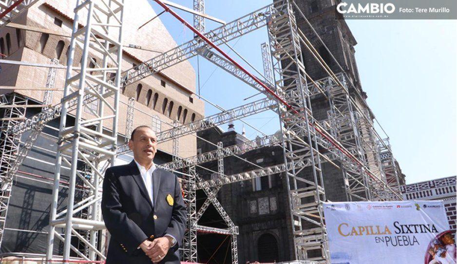 Tras suspensión del INAH, pospondrán inauguración de Capilla Sixtina en la Catedral