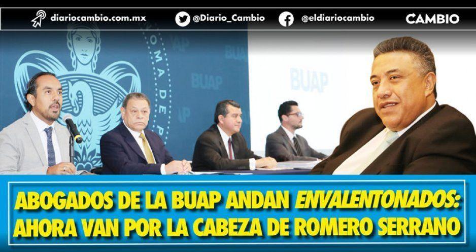BUAP se envalentona tras cancelación de auditoría: van por la cabeza de Romero Serrano (VIDEOS)