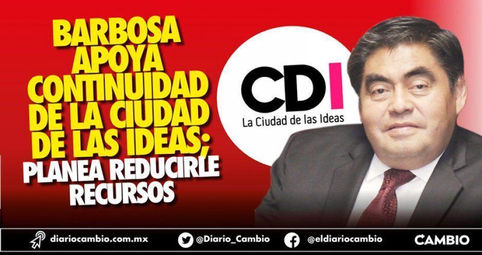 Barbosa apoya continuidad de la Ciudad de las Ideas; planea reducirle recursos