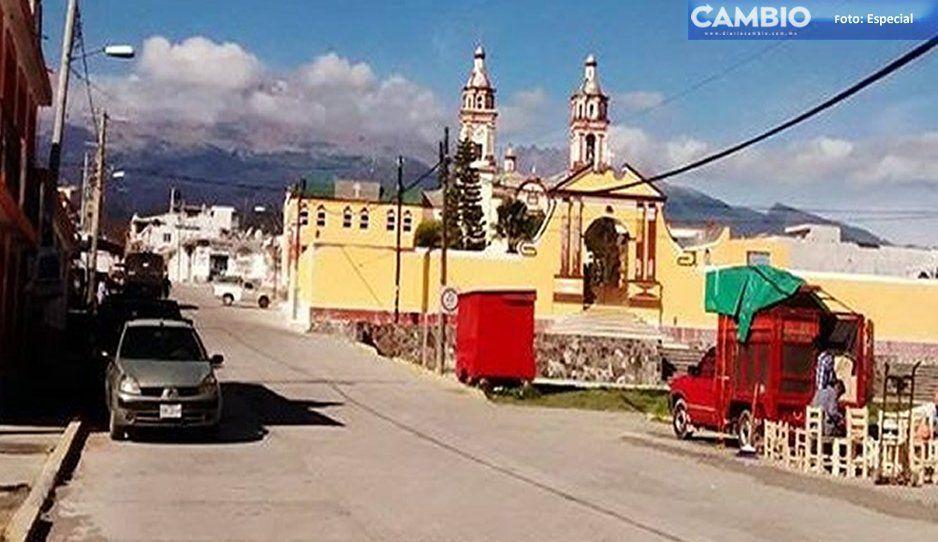 Chiautzingo: zona de familias vulnerables frente al frío