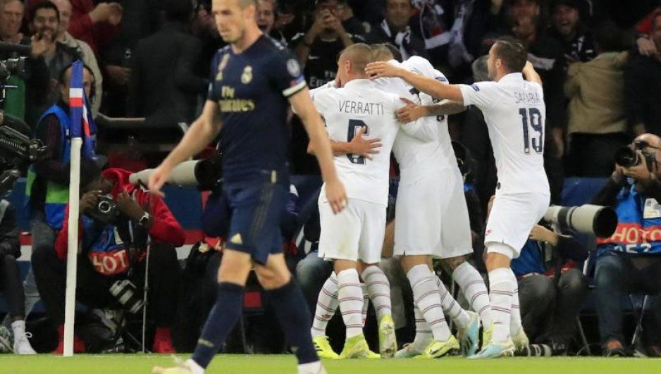 PSG golea al Real Madrid en su debut de Champions (VIDEO)