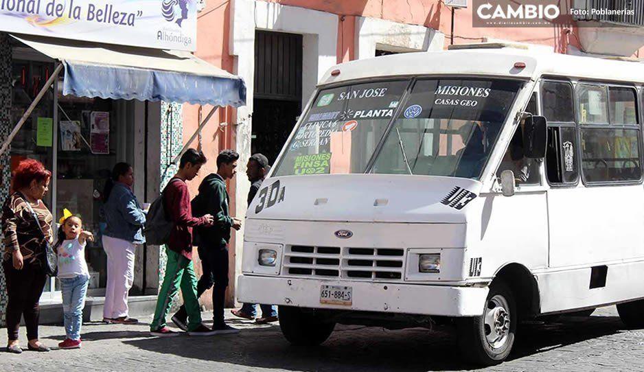 No se ha autorizado el incremento en la tarifa del transporte público: Secretaría de Movilidad y Transporte