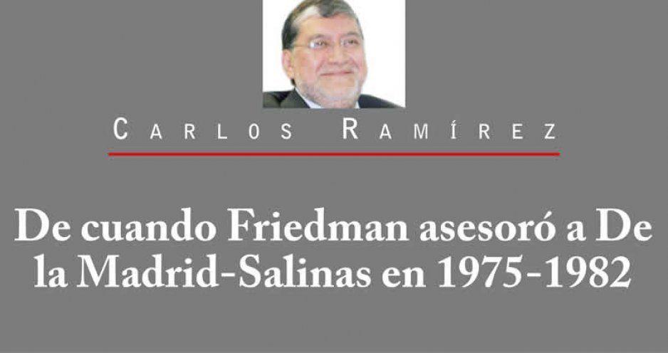 De cuando Friedman asesoró a De la Madrid-Salinas en 1975-1982