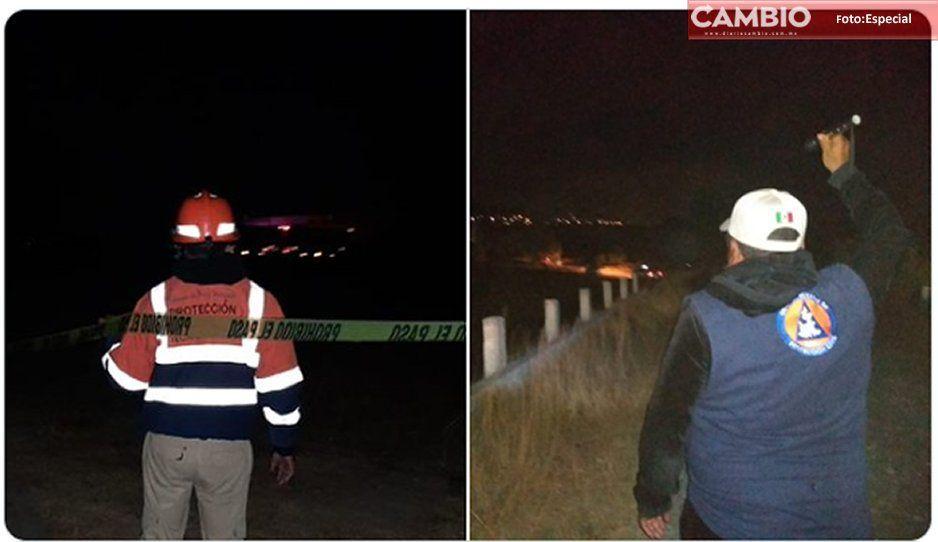 Protección Civil atiende fuga provocada por huachigaseros en Tecamachalco