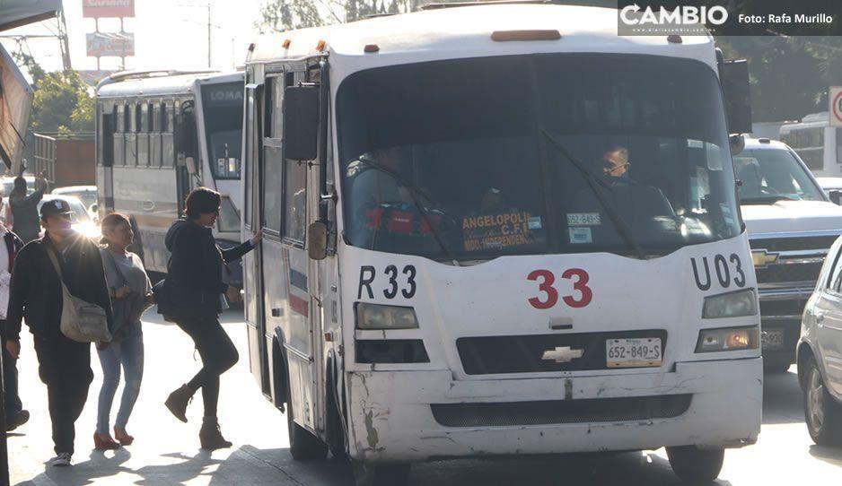 Aumento a costo del pasaje en Puebla cada vez más cerca; Gobierno acepta analizar el incremento