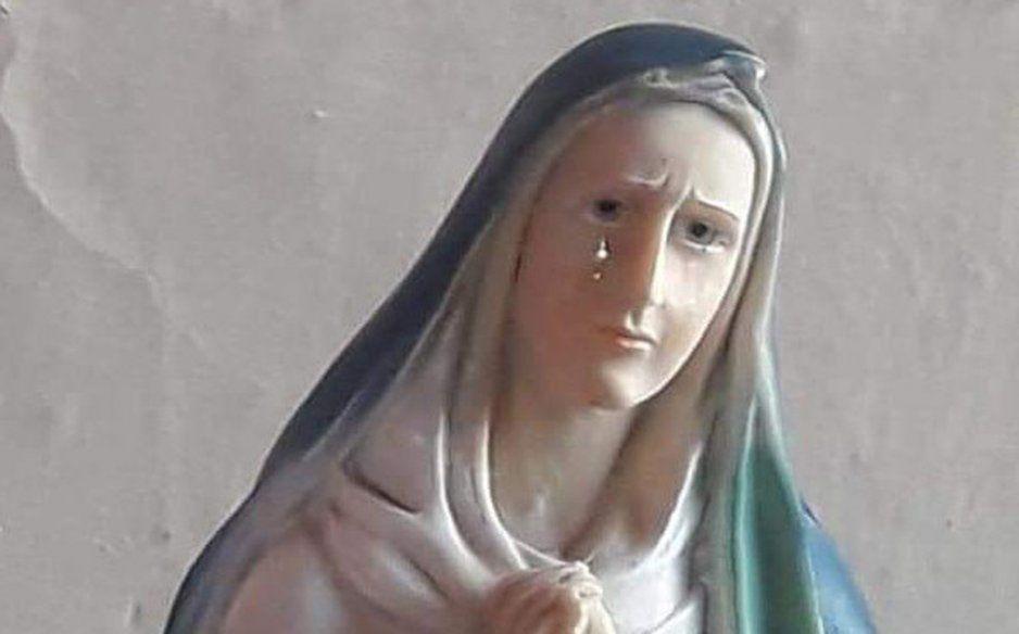 Santísima Virgen de los Dolores llora por sus hijos