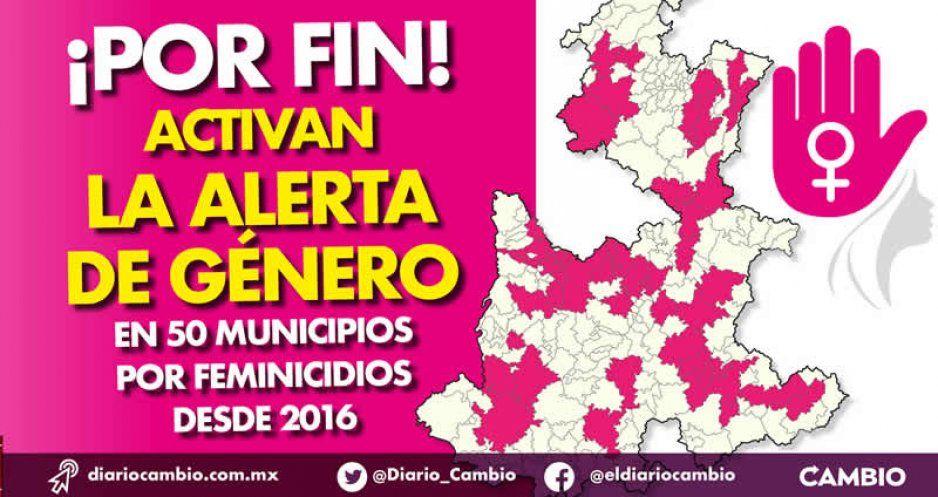 ¡Por fin! Activan la Alerta de Género en 50 municipios por feminicidios desde 2016 (VIDEO)