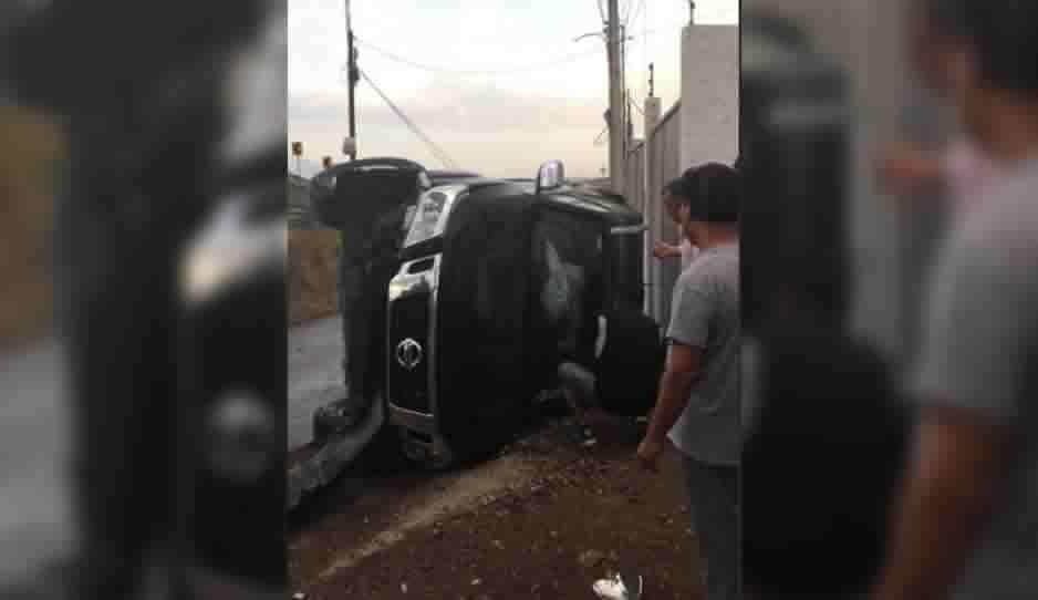 La falta de valla de contención en Periférico y Bulevar Carlos Camacho Espíritu ha provocado terribles accidentes (FOTOS Y VIDEO)