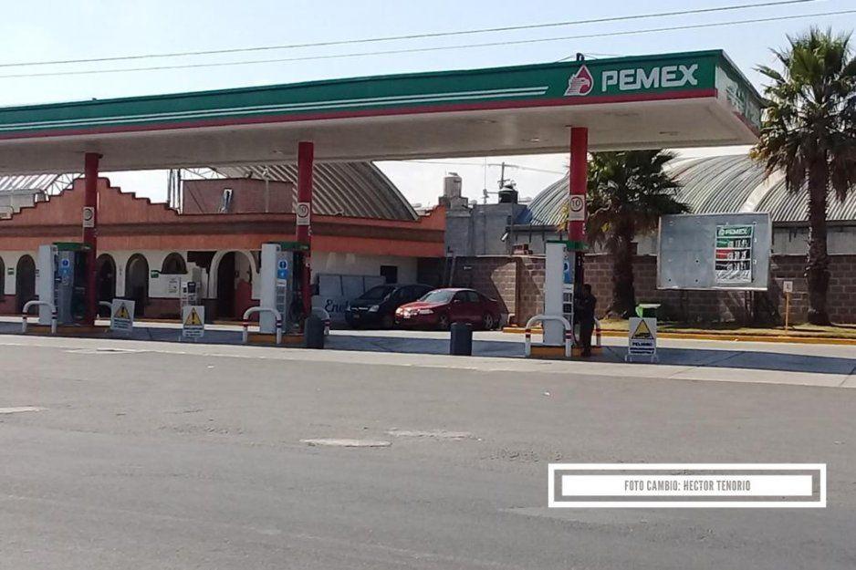 ¡Preparate Puebla! Inicia el desabasto de combustible en Texmelucan, cierran tres gasolineras (FOTOS)