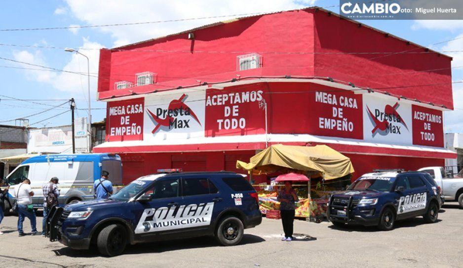 ¡Una rata menos! Abaten a delincuente en asalto a Presta Max del mercado Morelos (VIDEO)