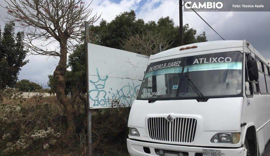 Rutas de evacuación en Atlixco lucen olvidadas y sin señalética