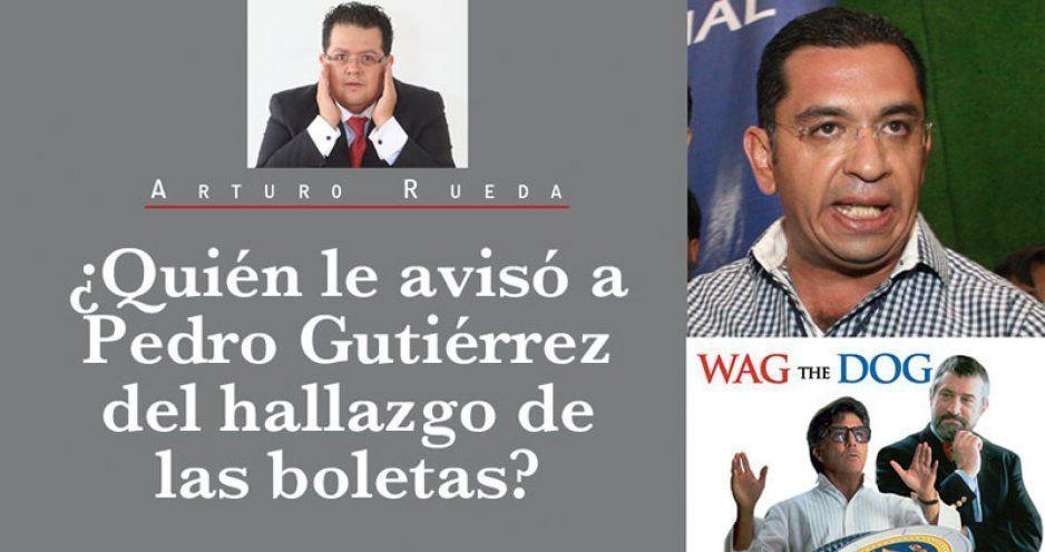 ¿Quién le avisó a Pedro Gutiérrez del hallazgo de las boletas?