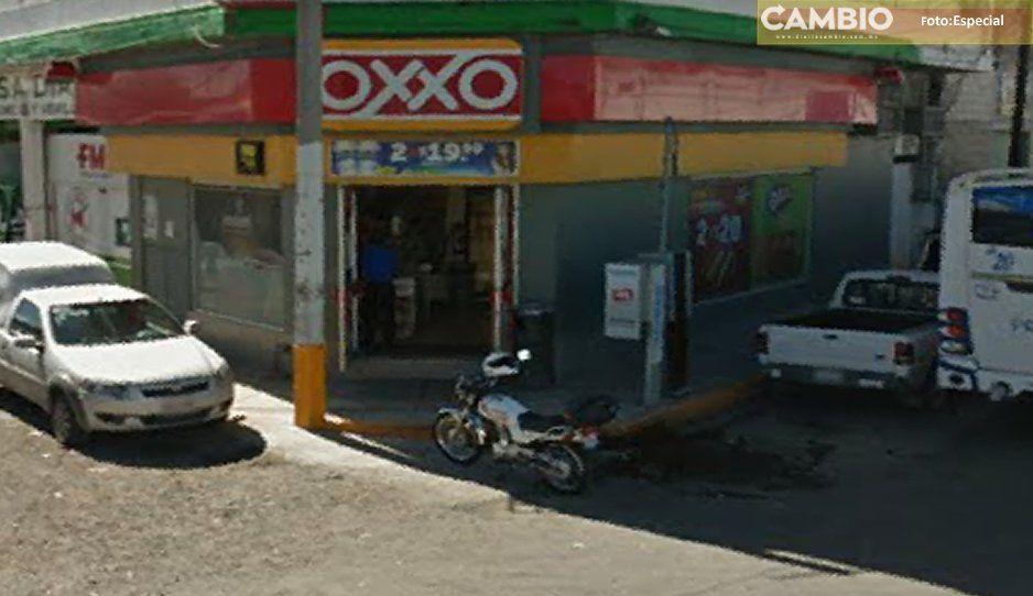 ¡Mal día para los Oxxos! Asaltan cuatro, en menos de 50 minutos en Texmelucan