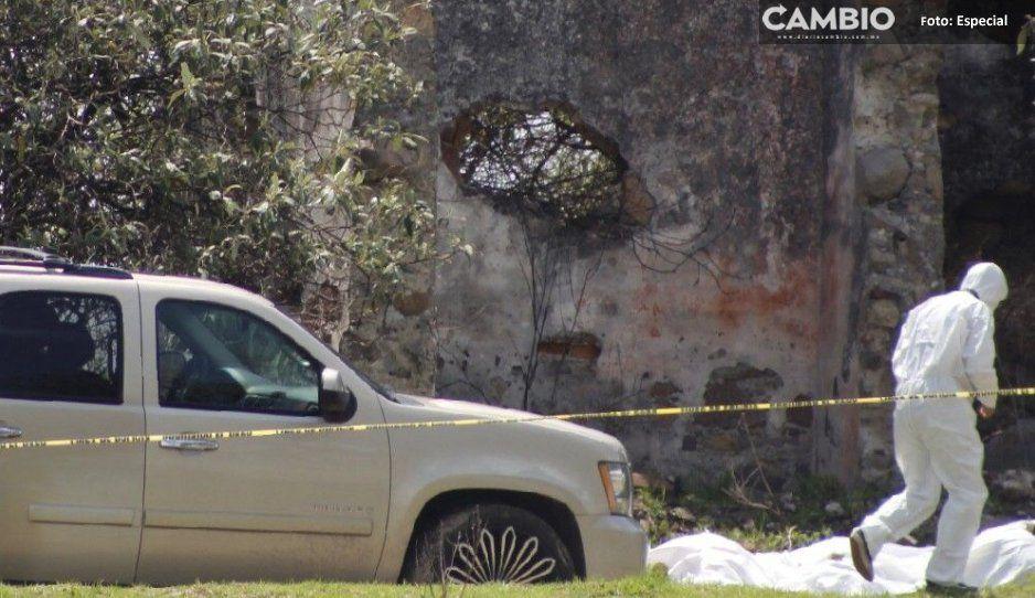 Huachicoleo, presunto móvil de  ejecuciones en San Miguel Espejo